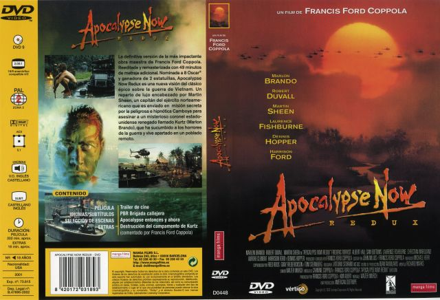 Apocalypse Now Redux Por Malevaje - dvd