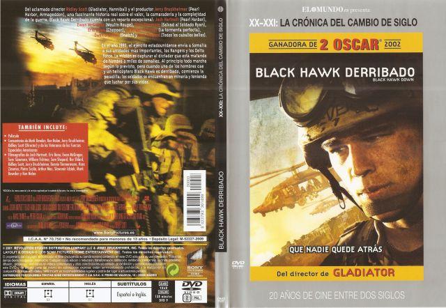 Black Hawk Derribado 20 Anos De Cine Entre Dos Siglos Por Teletubbie - dvd
