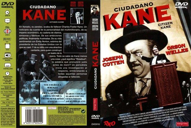 Ciudadano Kane Por Godbeat - dvd