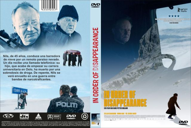 In Order Of Disappearance Custom Por Jonander1 - dvd