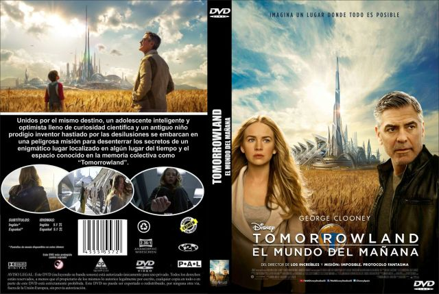 Tomorrowland El Mundo Del Manana Custom Por Jonander1 - dvd