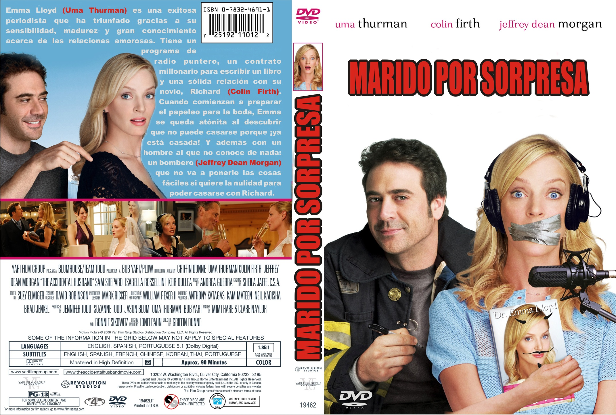Matrimonio Accidente Sinopsis : Marido por sorpresa region dvd jovihi infi