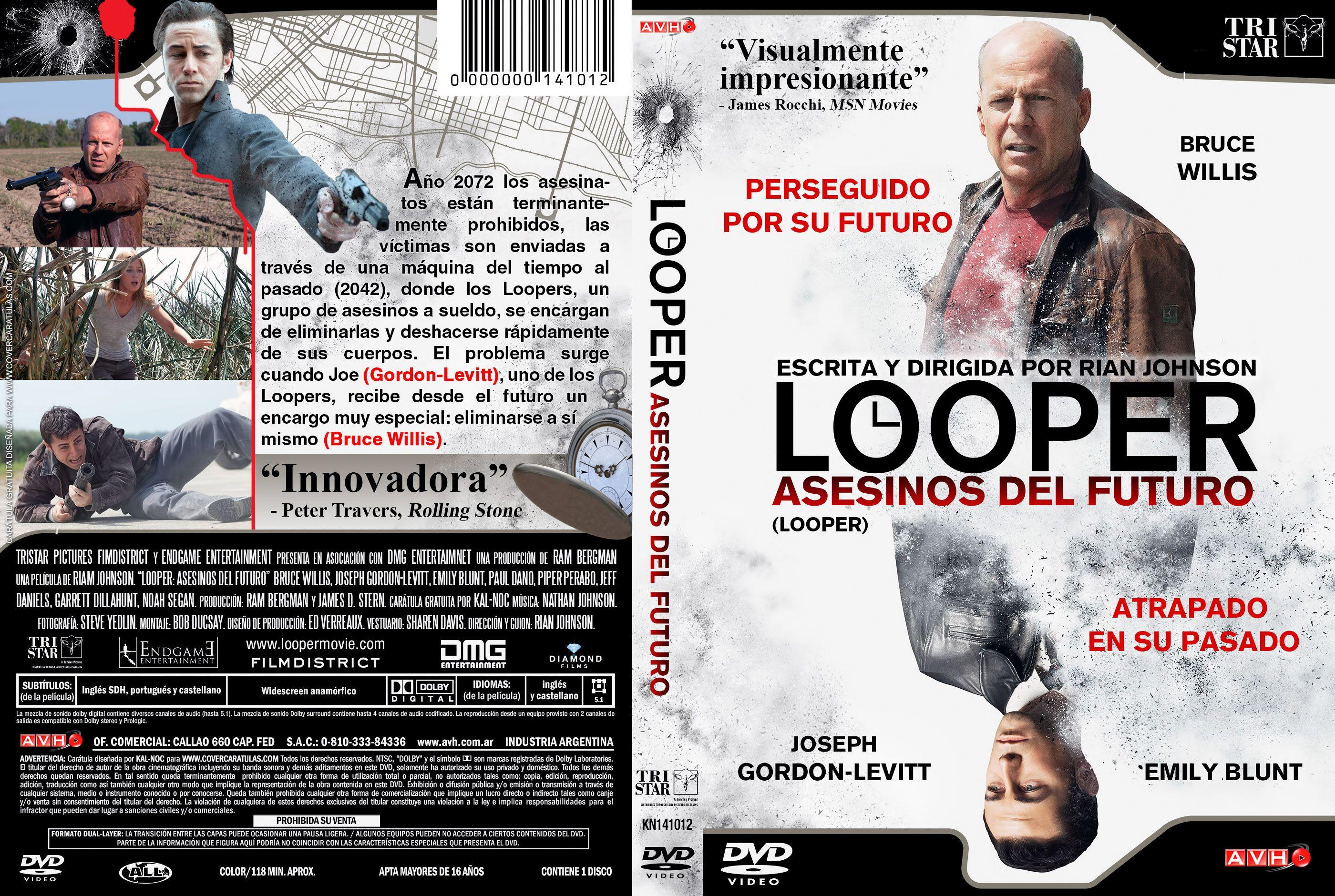 Looper: Asesinos del futuro (2012) [Dvdrip Latino]
