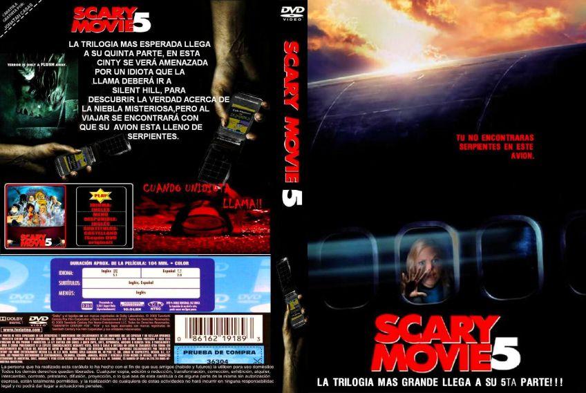 Scary Movie 5 Custom V2 Por Jonatan Casas Dvd Infi2011
