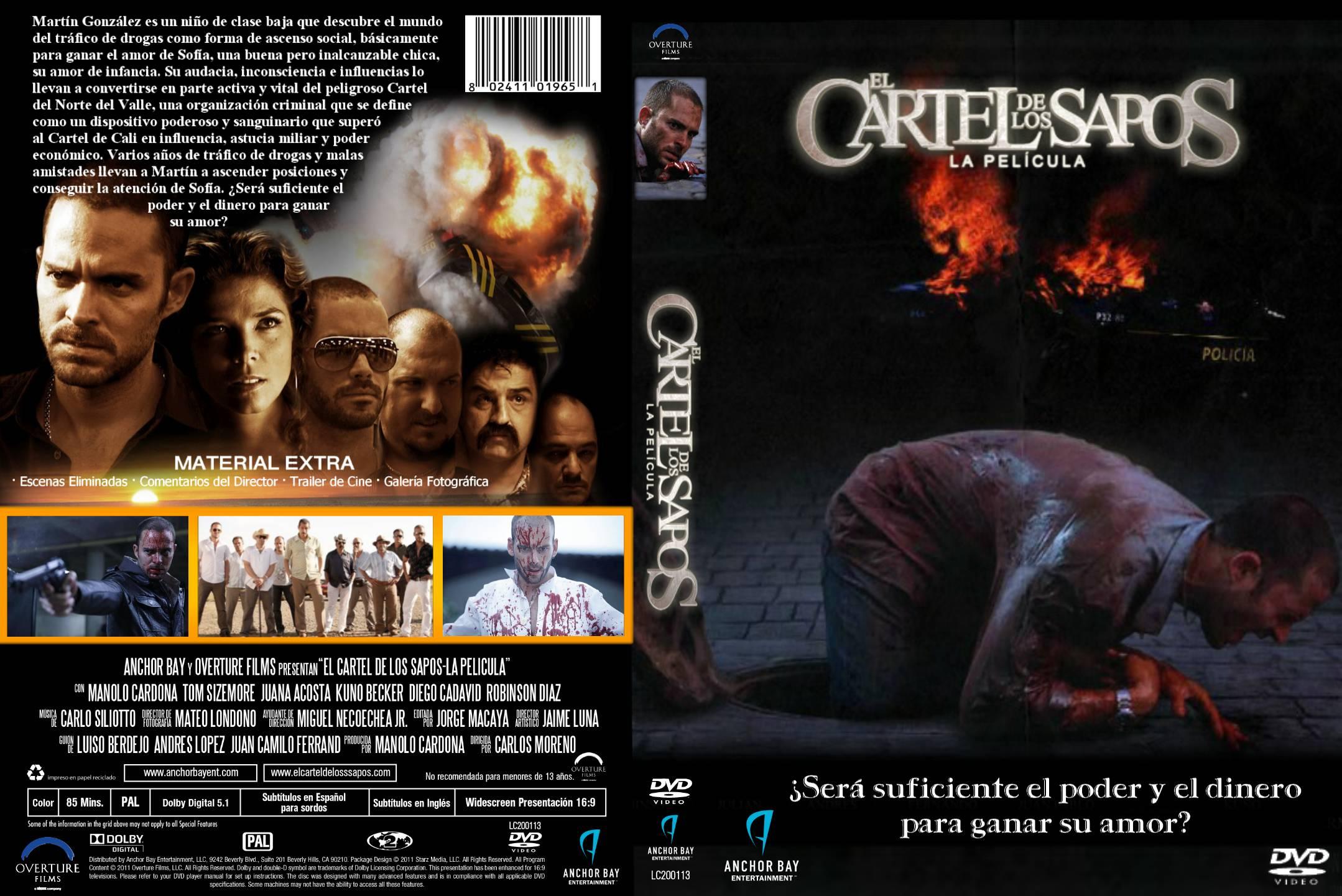 El Cartel De Los Sapos La Pelicula Custom V2 Por Lolocapri Dvd Infi2011