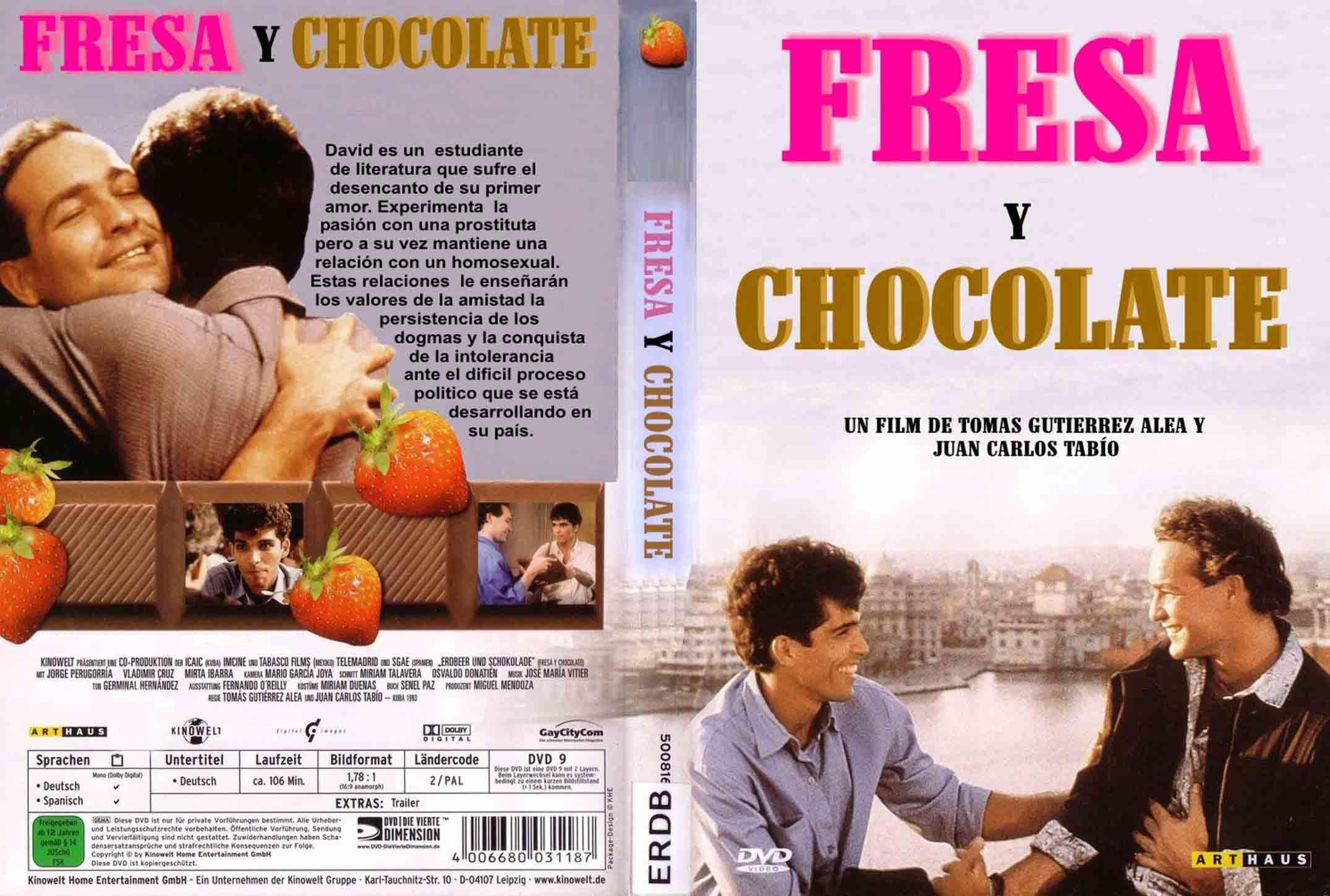 Fresa Y Chocolate Custom Por Nampazampa – dvd | infi2011