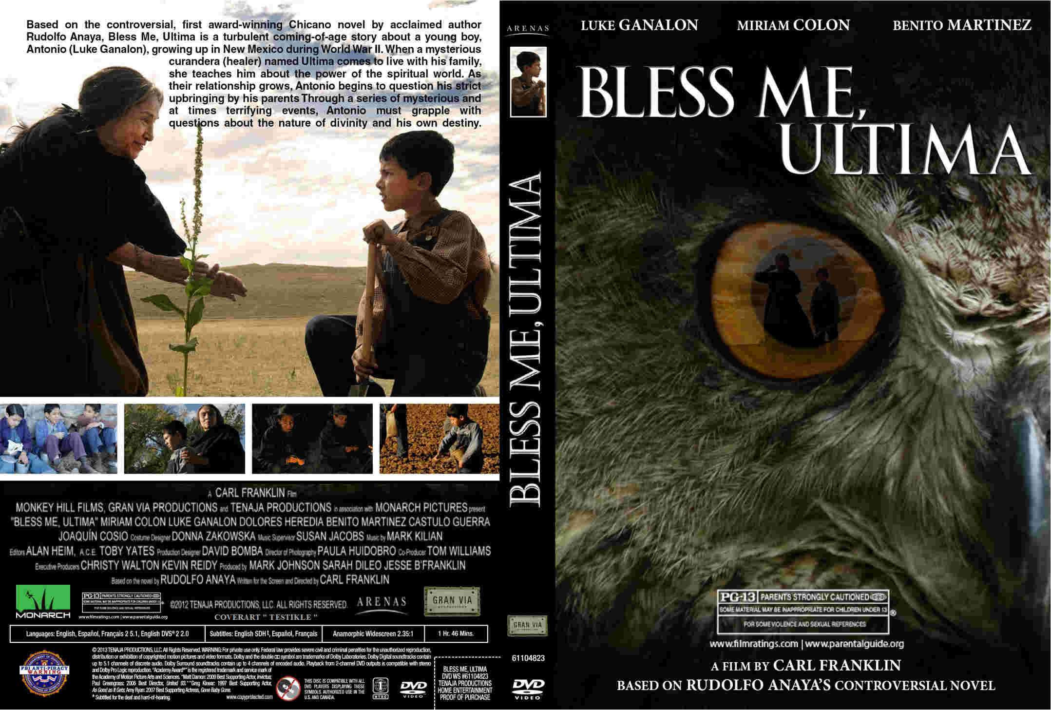 bless me ultima reaction Bless me, ultima is simple, sincere, and movinga breath of fresh air this article is related to: reviews and tagged carl franklin, film reviews, luke ganalon.
