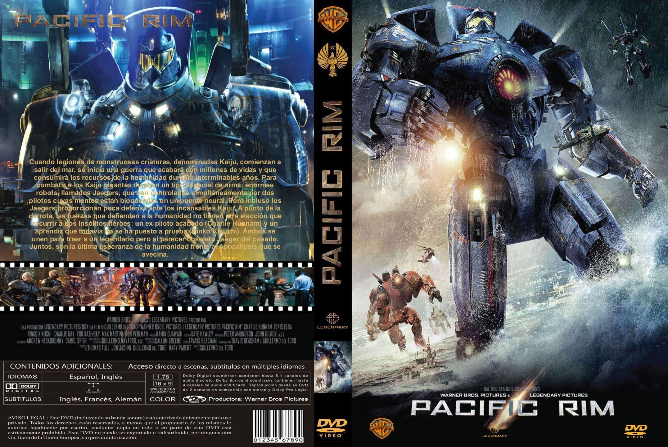 301 Moved Permanently Pacific Rim Dvd Cover