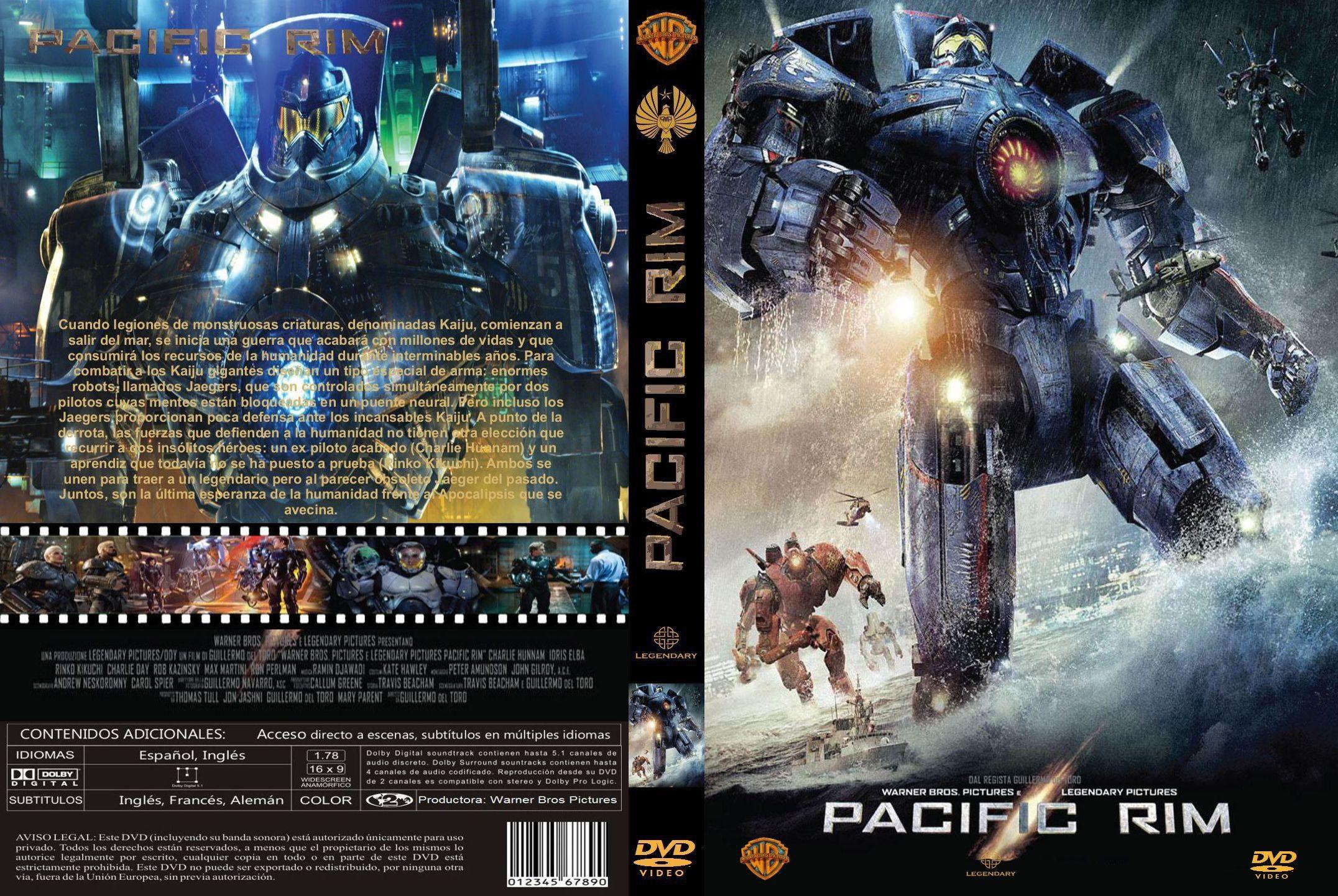 Pacific Rim Custom Por Vigilantenocturno – dvd(1) | infi2011 Pacific Rim 2013 Dvd Cover