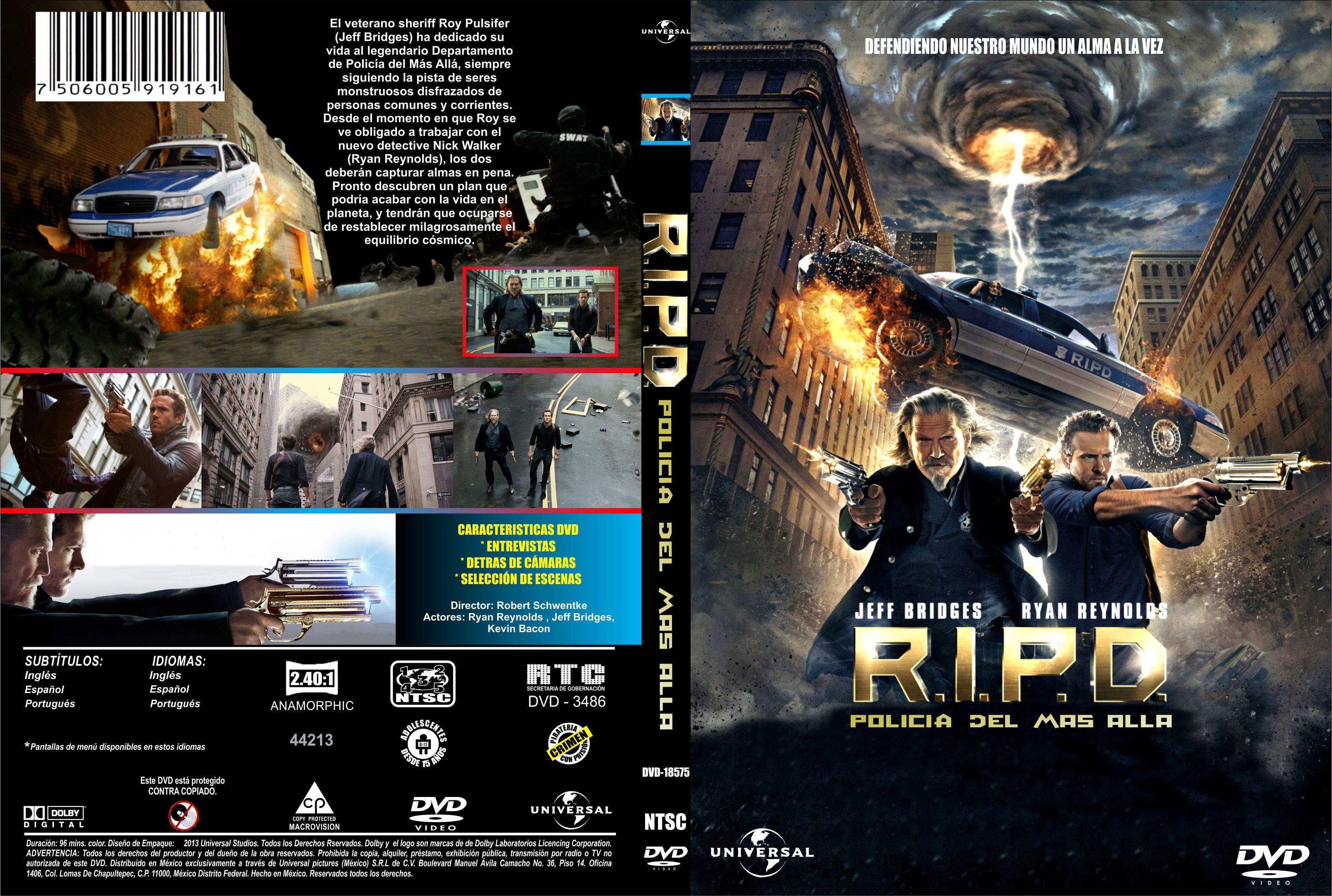 R I P D Policia Del Mas Alla Custom Por Fable – dvd | infi2011 R.i.p.d. Dvd