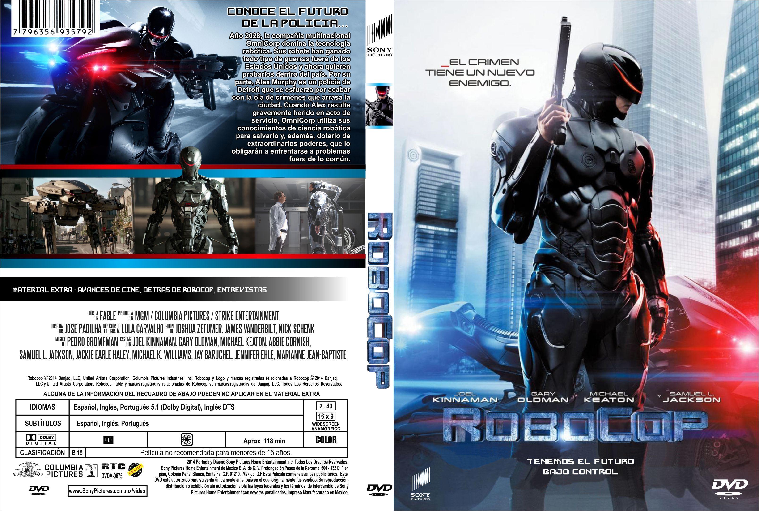 Robocop Dvd 2014 Roboc...