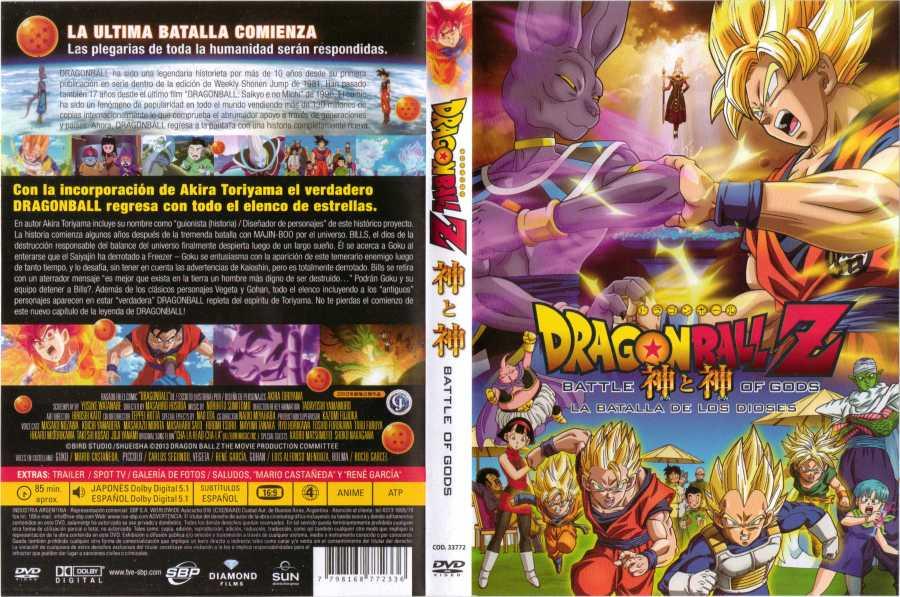 Dragon Ball Z La Batalla De Los Dioses Region 4 Por
