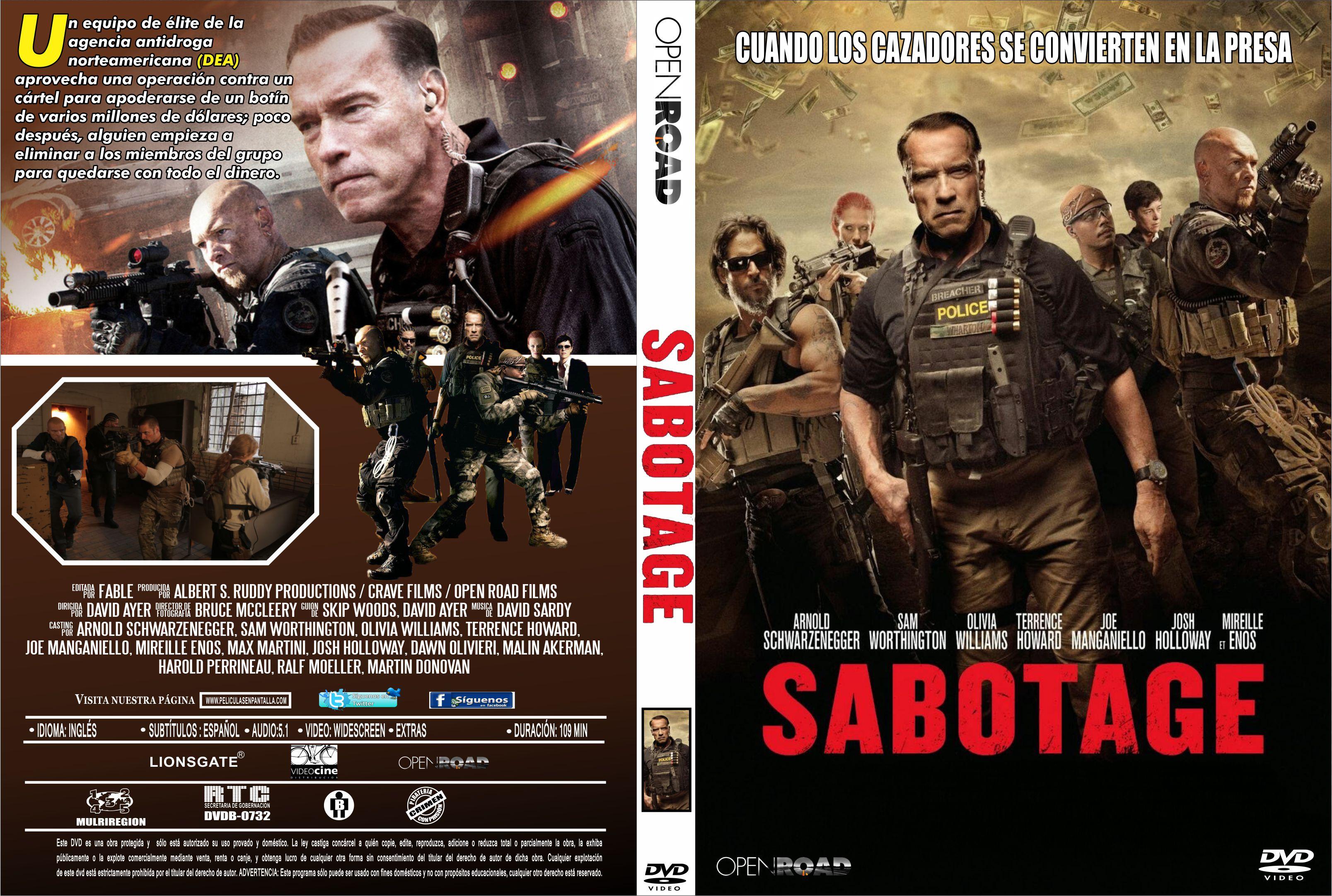 Sabotage (2014) [Dvdrip Latino] [Zippyshare]