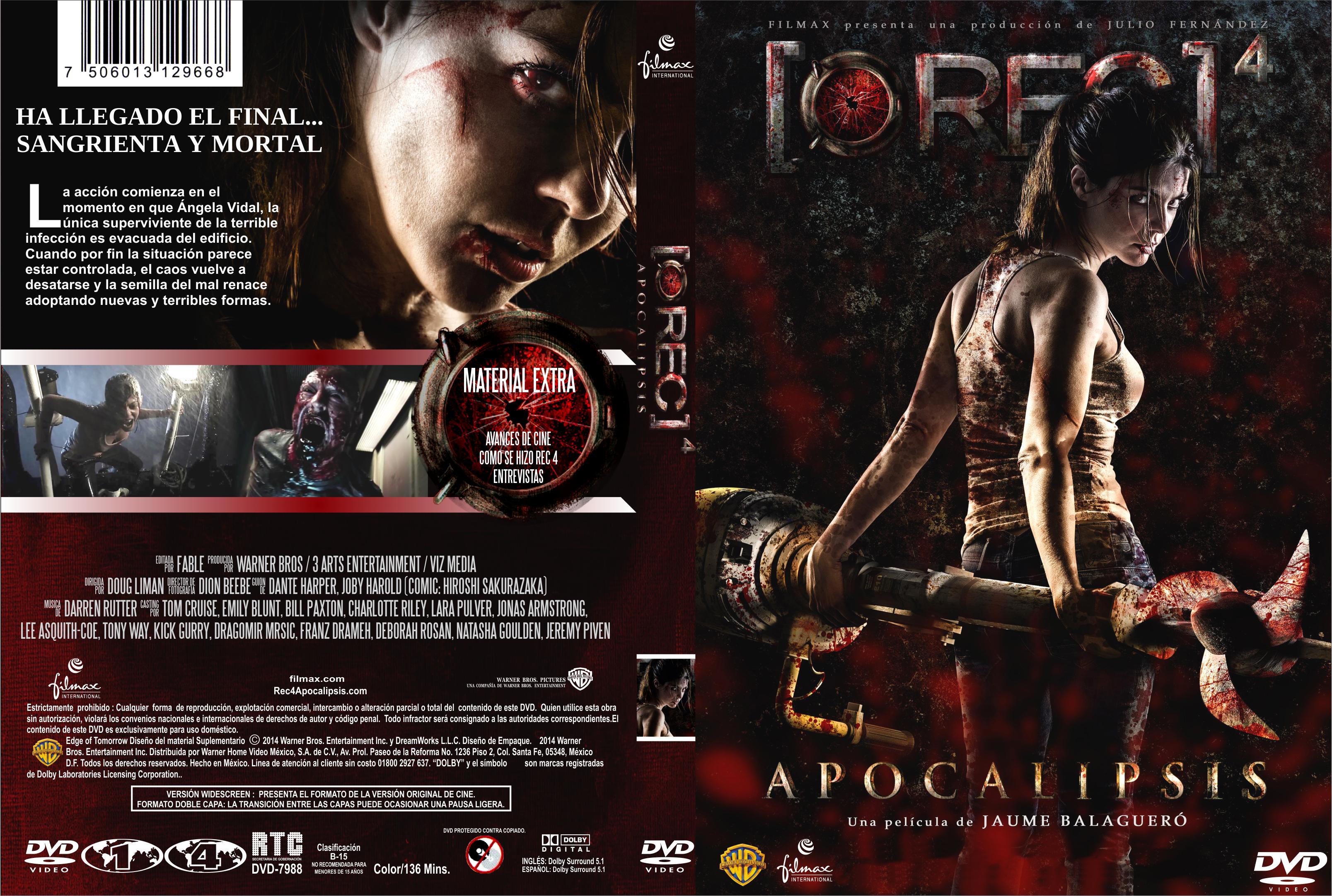 Rec 4 Apocalipsis Custom Por Fable Dvd Infi2011