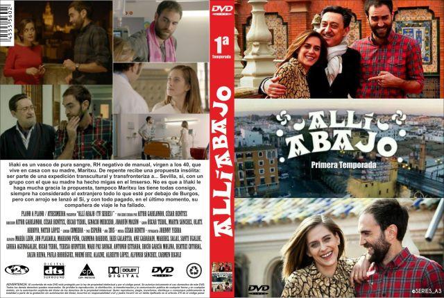 Alli Abajo Temporada 01 Custom Por Jonander1 - dvd
