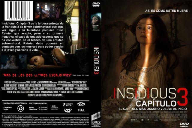 Insidious Capitulo 3 Custom Por Jonander1 - dvd