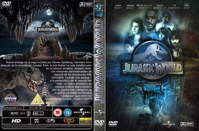 Jurassic World Custom Por Menta - dvd
