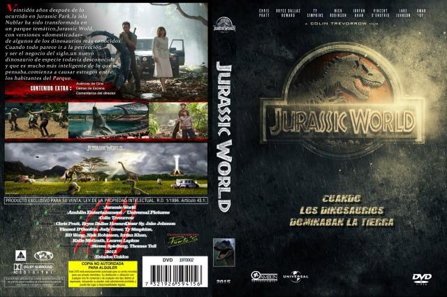 Jurassic World Custom V3 Por Josemanuelps - dvd