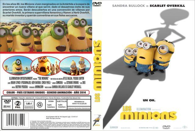 Los Minions Custom Por Jonander1 - dvd