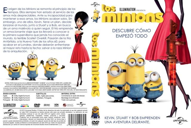 Los Minions Custom V2 Por Darioarg - dvd