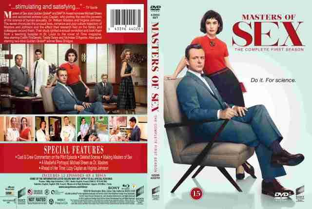 Masters of Sex - Season 1 - nordic retail DVD