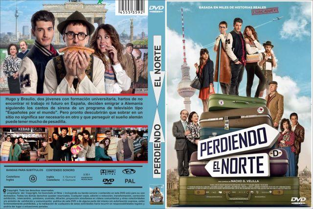 Perdiendo El Norte Custom Por Jonander1 - dvd