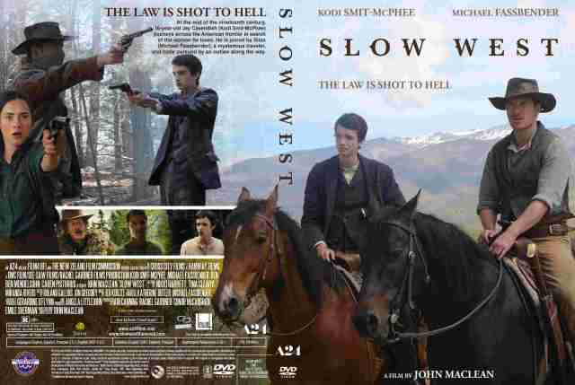 Slow West 2015 DVD Front