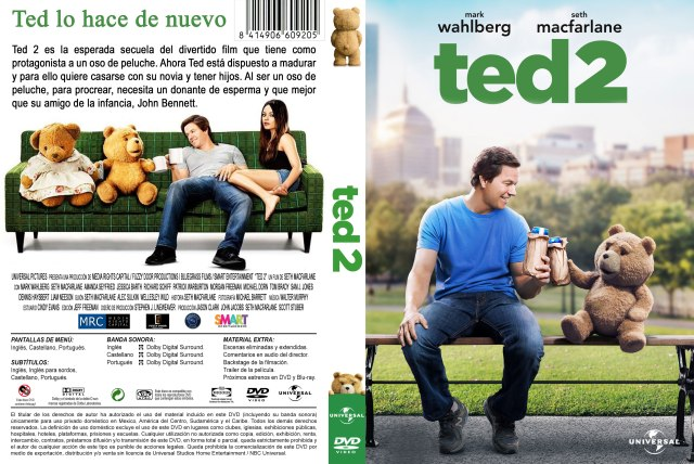 Ted 2 Custom Por Darioarg - dvd
