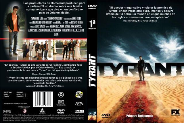 Tyrant Temporada 01 Custom Por Jonander1 - dvd