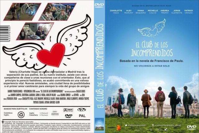El Club De Los Incomprendidos Custom Por Jonander1 - dvd
