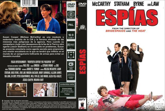 Espias Custom Por Jonander1 - dvd