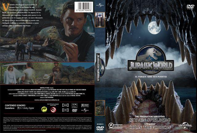 Jurassic World Custom V2 Por Jrc - dvd