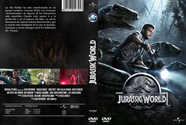 Jurassic World Custom V4 Por Franvilla - dvd