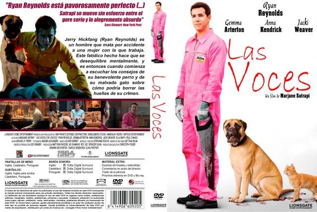 Las Voces The Voices Custom Por Darioarg - dvd