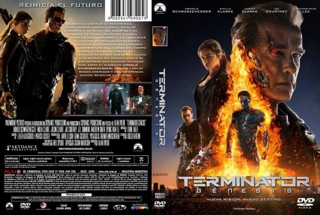 Terminator Genesis Custom V3 Por Kal Noc - dvd