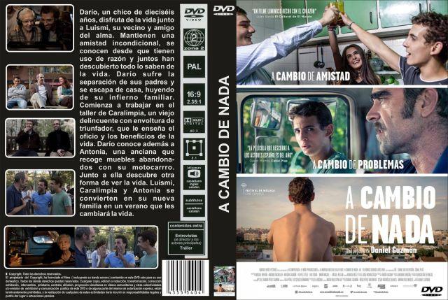 A Cambio De Nada Custom Por Jonander1 - dvd