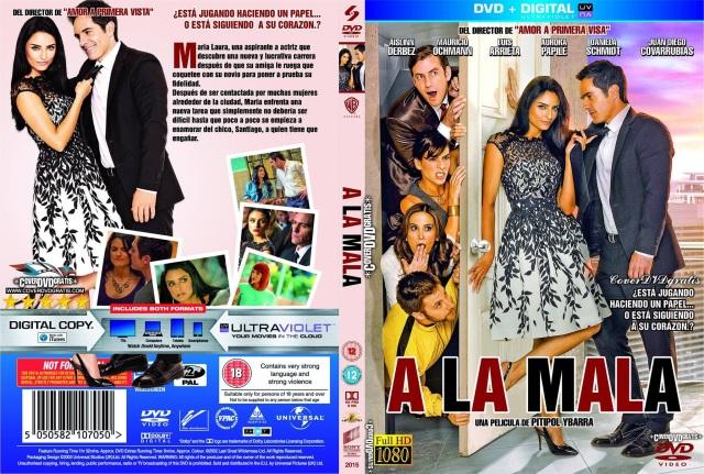 A La Mala 2015 -CoveRdvdGratis.Com V1