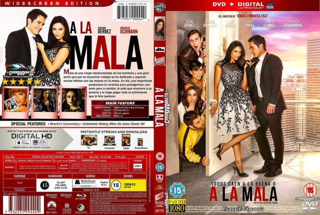 A La Mala 2015 -CoveRdvdGratis.Com V2