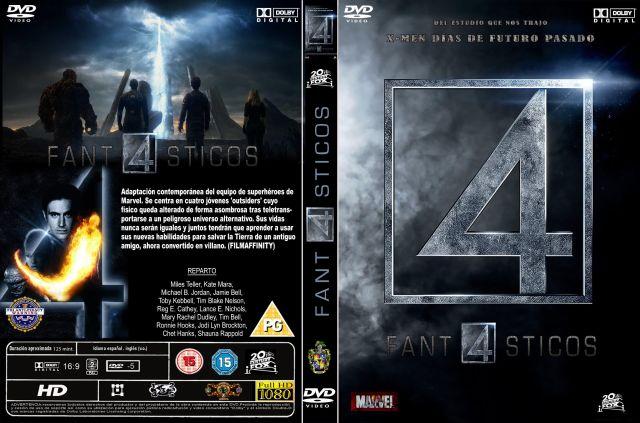 Cuatro Fantasticos Custom Por Menta - dvd