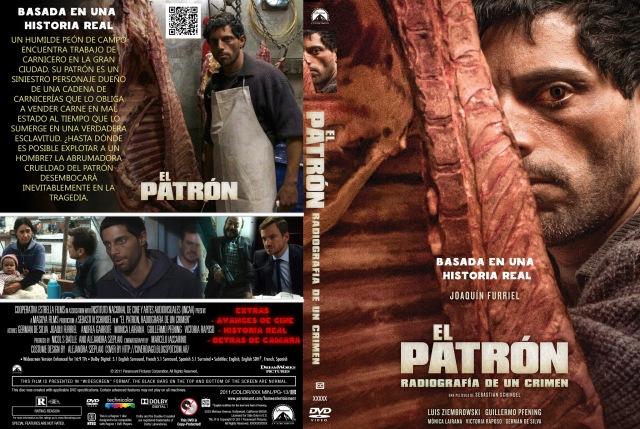 El patron, radiografia de un crimen by cover diago