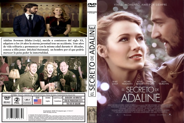 El Secreto De Adaline Custom Por Albertolancha - dvd