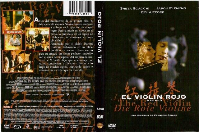 El Violin Rojo Region 4 Por Lonkomacul - dvd