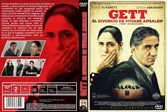 Gett El Divorcio De Viviane Amsalem Custom Por Jonander1 - dvd