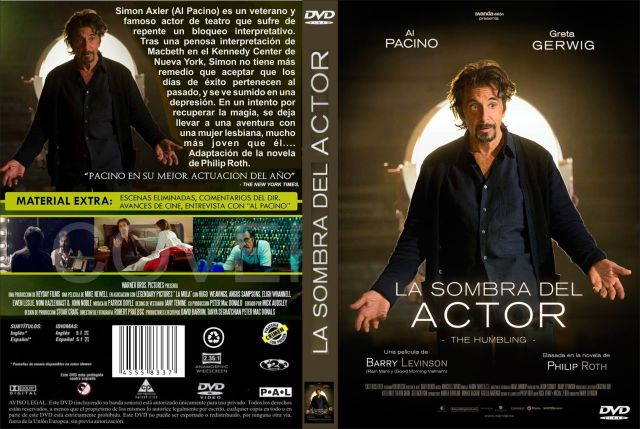 La Sombra Del Actor 2014 Custom Por Jonander1 - dvd(1)
