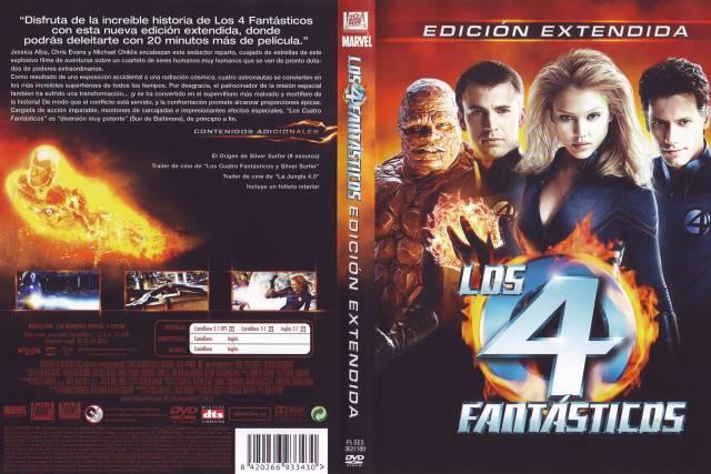 Los 4 Fantasticos 2005 Edicion Extendida Por Lankis - dvd