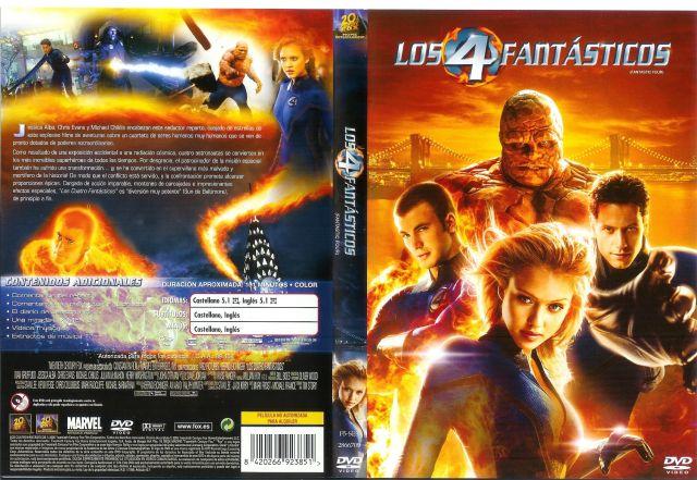 Los 4 Fantasticos 2005 Por Pasacris - dvd