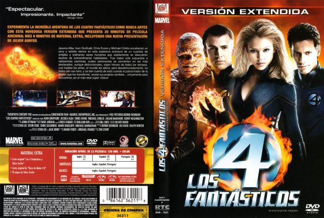 Los 4 Fantasticos 2005 Version Extendida Region 1 4 Por Oagf - dvd
