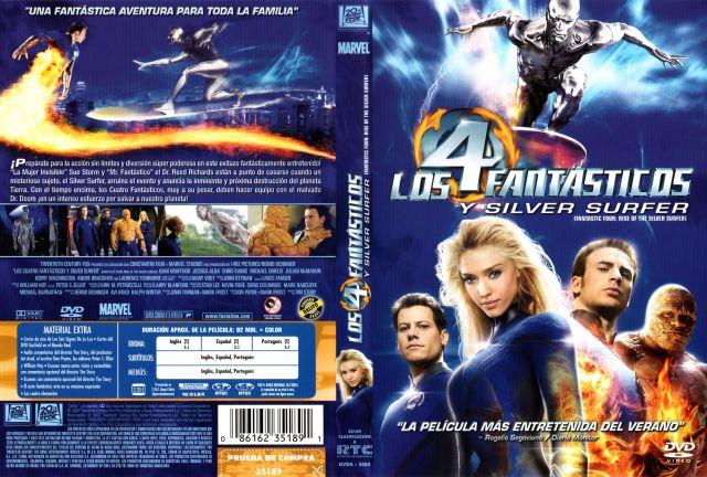 Los 4 Fantasticos Y Silver Surfer Region 1 4 Por Oagf - dvd