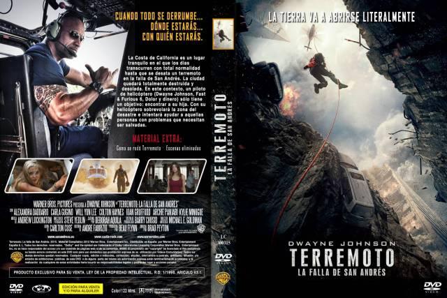 Terremoto La Falla De San Andres Custom Por Lolocapri - dvd