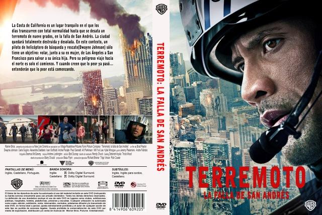 Terremoto La Falla De San Andres Custom V2 Por Darioarg - dvd